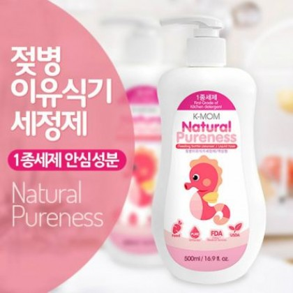 K-Mom - Natural Pureness Feeding Bottle Cleanser 500ml (Liquid Type)