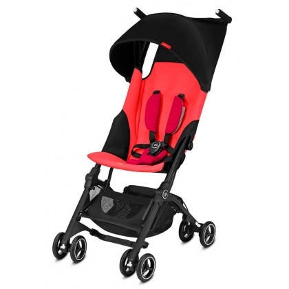 GB Pockit Plus with canopy (Cherry Red)