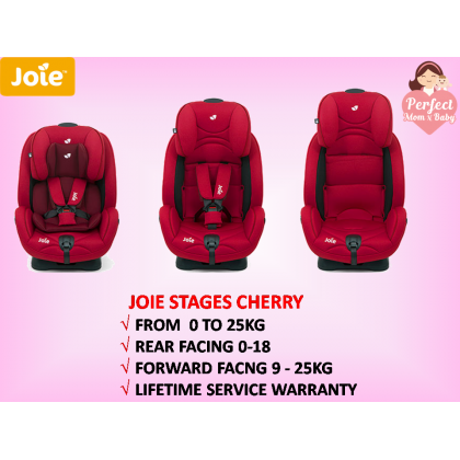 Joie Stages  FORM NEW BORN TO 25KG