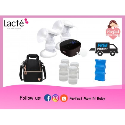 Lacte Omnia Rechargeable Electric Breast Pump / Package