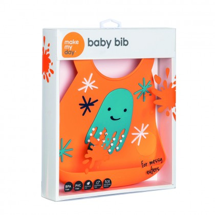 Make My Day Baby Bib-Tentacool