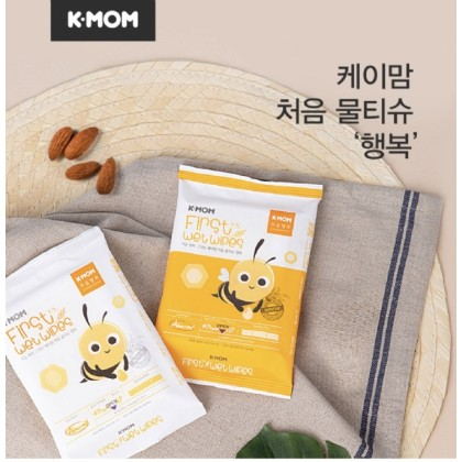 K-MOM FIRST WET WIPES PROMISE-10pcs