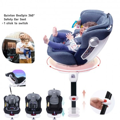Quinton OneSpin 360 Safety Car Seat - Blue