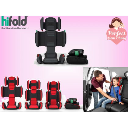 hifold - the fit-and-fold booster (15-45kg , 90-150cm)