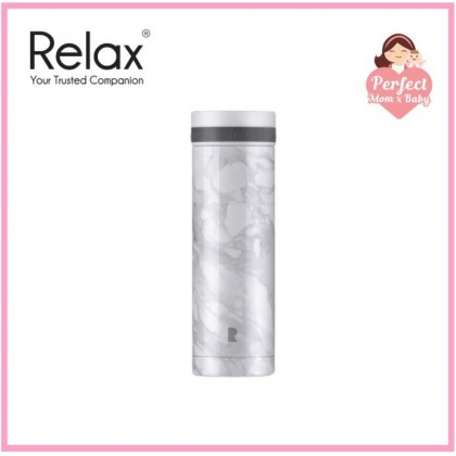 RELAX 300ML 18.8 STAINLESS STEEL THERMAL TUMBLER - WHITE