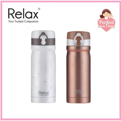RELAX 300ML 18.8 STAINLESS STEEL THERMAL FLASK