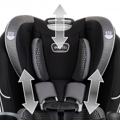 Evenflo EveryFit 4-in-1 Car Convertible Seat
