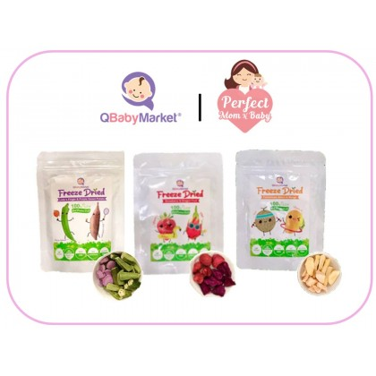 Q BABY MARKET Freeze Dried Fruit & Vege ( 12 Months And Above )