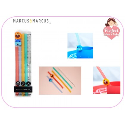 Marcus & Marcus Reusable Family straw set