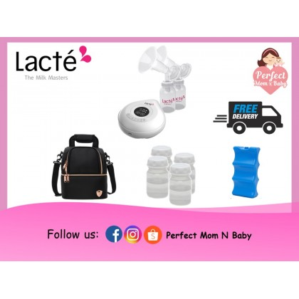 LACTE Amy Rechageable Electric Breastpump / Package