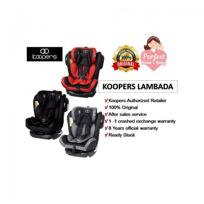 Koopers Lambada Convertible Car Seat (0-36KG)