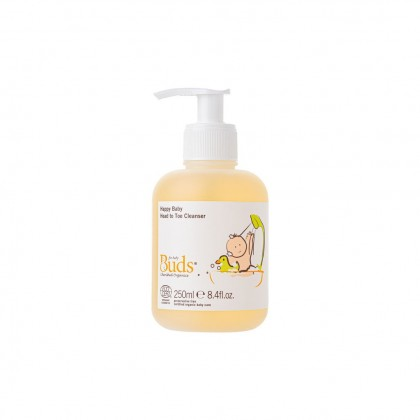 Buds Cherished Organics - Happy Baby Head To Toe Cleanser