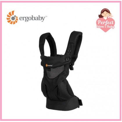ERGOBABY 360 All Positions Baby Carrier Cool Air Mesh - Onyx Black