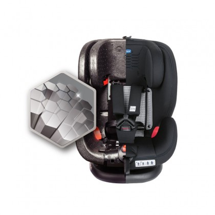 CHICCO Seat4Fix Air Baby Car Seat - Black (FREE Deluxe Protection for Car Seat)