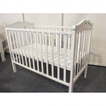 OCA 5 IN 1 Convertible Baby Cot (White)