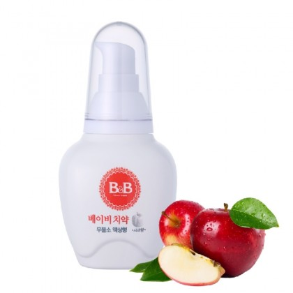 B&B Baby Toothpaste 80g (Liquid Type) 0-2 yr old