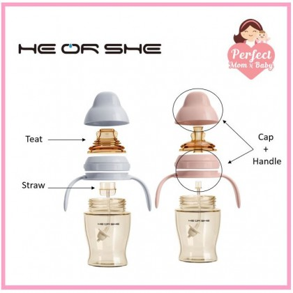 HE OR SHE Replacement Accessories (For Dental Care Sippy Cup)