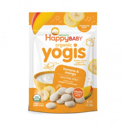 BUY 1 FREE 1 (Expiry date: 30/06/2021) HAPPY BABY Yummy Yogis