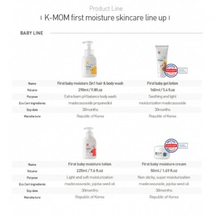 K-MOM First Baby Skincare