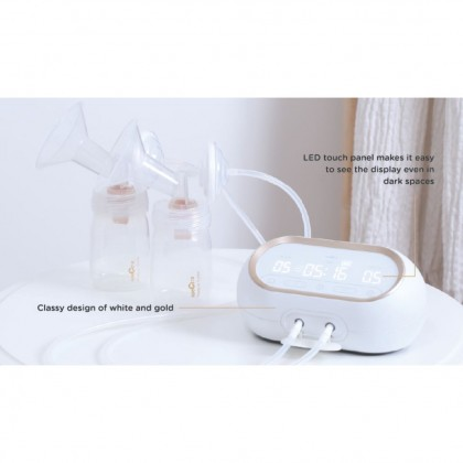 SPECTRA DUAL COMPACT ELECTRIC DUAL BREAST FEEDING PUMP