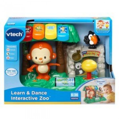 VTECH Dance N Sing Zoo / Learn and Dance Interactive Zoo or 6-36 months Early Learning Baby Toddler Toys