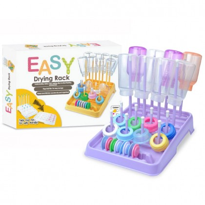 EASY - Bottle Drying Rack (Assorted Colour)