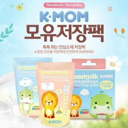 K-MOM Breast milk Storage Bags 200ml (20pcs)